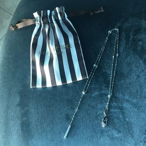 Henri Bendel lariat style necklace